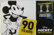 USAopoly 0332 Mickey: The True Original Collector's Chess Set
